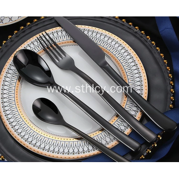 Stainless Steel Flatware Set for Hotel Restaurant Home